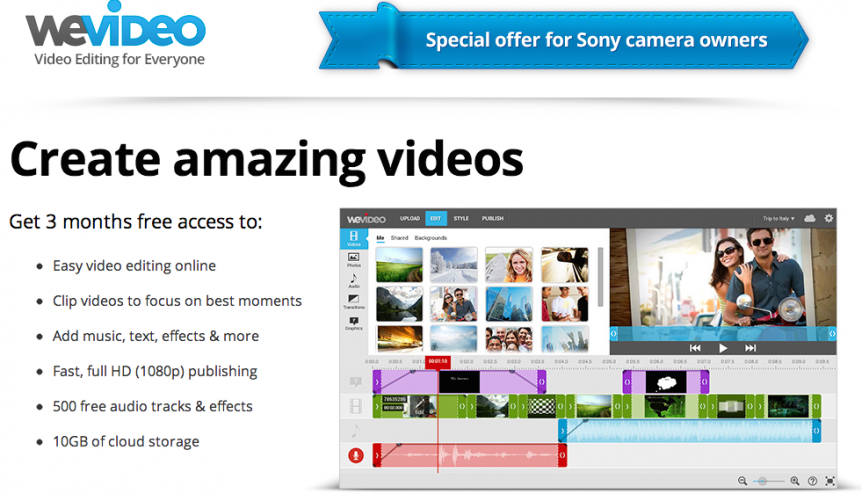 "Permalink to: ""Sony Camcorder Customers Aim for the Cloud As The World Becomes More Media Savvy"""