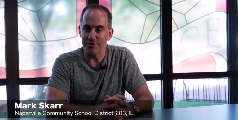 """Permalink to: """"WeVideo Educator Interview: Mark Skarr, Naperville CSD 203"""""""
