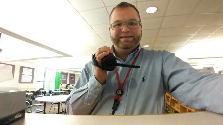 """Permalink to: """"Educator of the Month: Aaron Johnson"""""""