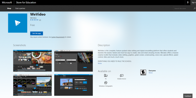"""Permalink to: """"Exclusive Features Come to WeVideo for Microsoft Windows"""""""
