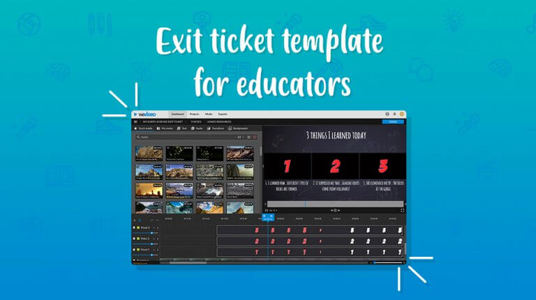 """Permalink to: """"New! Exit ticket template for educators"""""""
